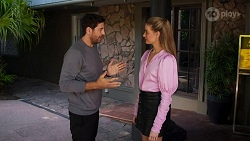 Pierce Greyson, Chloe Brennan in Neighbours Episode 8635