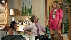 Yashvi Rebecchi, Toadie Rebecchi, Amy Greenwood in Neighbours Episode 8635