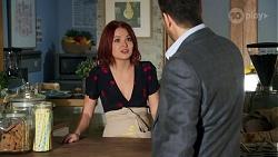 Nicolette Stone, Pierce Greyson in Neighbours Episode 8635
