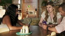 Yashvi Rebecchi, Mackenzie Hargreaves, Toadie Rebecchi in Neighbours Episode 8635