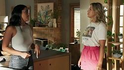Yashvi Rebecchi, Amy Greenwood in Neighbours Episode 8635