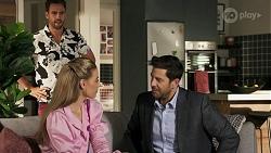 Aaron Brennan, Chloe Brennan, Pierce Greyson in Neighbours Episode 8636