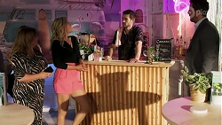 Terese Willis, Amy Greenwood, Ned Willis, Pierce Greyson in Neighbours Episode 8636