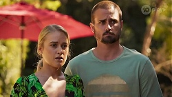 Roxy Willis, Kyle Canning in Neighbours Episode 8636
