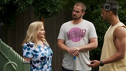 Sheila Canning, Kyle Canning, Levi Canning in Neighbours Episode 8637