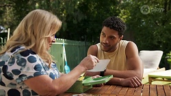 Sheila Canning, Levi Canning in Neighbours Episode 8637