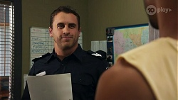 Constable Andrew Rodwell, Levi Canning in Neighbours Episode 8638