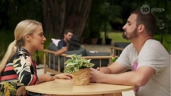 Roxy Willis, Kyle Canning in Neighbours Episode 8638