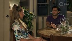Chloe Brennan, David Tanaka in Neighbours Episode 8639