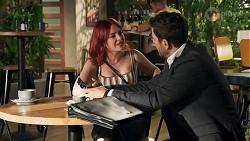 Nicolette Stone, Pierce Greyson in Neighbours Episode 8639