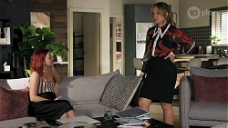 Nicolette Stone, Harlow Robinson in Neighbours Episode 8639