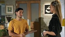 David Tanaka, Chloe Brennan in Neighbours Episode 8639
