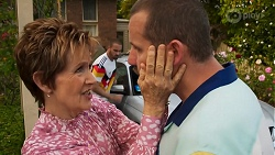 Susan Kennedy, Kyle Canning, Toadie Rebecchi in Neighbours Episode 8641