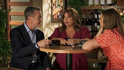 Paul Robinson, Terese Willis, Harlow Robinson in Neighbours Episode 8641
