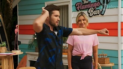 Ned Willis, Amy Greenwood in Neighbours Episode 8641