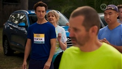 Jesse Porter, Melanie Pearson, Toadie Rebecchi in Neighbours Episode 8641