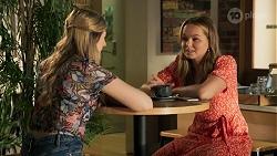Mackenzie Hargreaves, Harlow Robinson in Neighbours Episode 8641