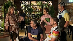 Melanie Pearson, Karl Kennedy, Susan Kennedy, Kyle Canning, Toadie Rebecchi in Neighbours Episode 8641