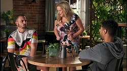 Kyle Canning, Sheila Canning, Levi Canning in Neighbours Episode 8642