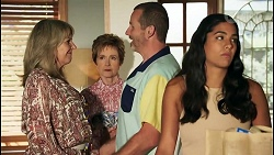 Melanie Pearson, Susan Kennedy, Toadie Rebecchi, Yashvi Rebecchi in Neighbours Episode 8642