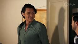 Leo Tanaka, David Tanaka in Neighbours Episode 8643