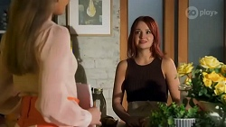 Chloe Brennan, Nicolette Stone in Neighbours Episode 8643