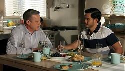 Paul Robinson, David Tanaka in Neighbours Episode 8643