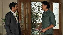 Pierce Greyson, Leo Tanaka in Neighbours Episode 8644