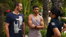 Kyle Canning, Levi Canning, Yashvi Rebecchi in Neighbours Episode 8644