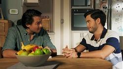 Leo Tanaka, David Tanaka in Neighbours Episode 8644