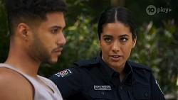 Levi Canning, Yashvi Rebecchi in Neighbours Episode 8644
