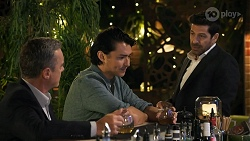 Paul Robinson, Leo Tanaka, Pierce Greyson in Neighbours Episode 8644