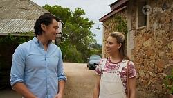 Leo Tanaka, Chloe Brennan in Neighbours Episode 8645