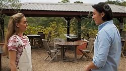 Chloe Brennan, Leo Tanaka in Neighbours Episode 8645