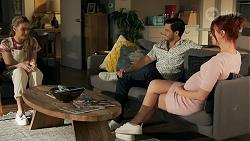 Chloe Brennan, David Tanaka, Nicolette Stone in Neighbours Episode 8645