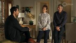 Pierce Greyson, Susan Kennedy, Karl Kennedy in Neighbours Episode 8645