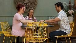 Nicolette Stone, Chloe Brennan, David Tanaka in Neighbours Episode 8645