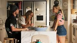 Ned Willis, Harlow Robinson, Roxy Willis in Neighbours Episode 8646