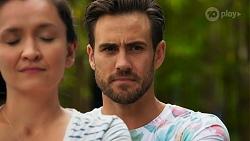 Maya Velasco, Aaron Brennan in Neighbours Episode 8646