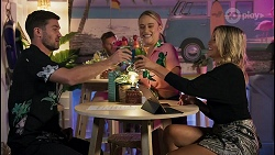Ned Willis, Roxy Willis, Amy Greenwood in Neighbours Episode 8647