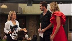 Roxy Willis, Ned Willis, Amy Greenwood in Neighbours Episode 8647