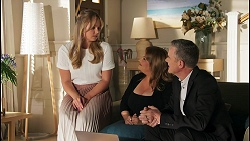 Harlow Robinson, Terese Willis, Paul Robinson in Neighbours Episode 8647