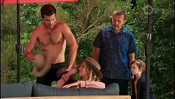 Ned Willis, Amy Greenwood, Toadie Rebecchi, Hugo Somers in Neighbours Episode 8648