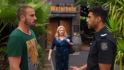 Kyle Canning, Sheila Canning, Levi Canning in Neighbours Episode 8648
