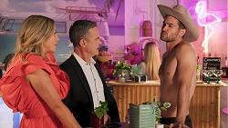 Amy Greenwood, Paul Robinson, Roxy Willis, Ned Willis in Neighbours Episode 8648