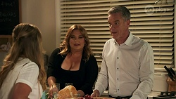 Harlow Robinson, Terese Willis, Paul Robinson in Neighbours Episode 8648