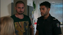 Sheila Canning, Kyle Canning, Levi Canning in Neighbours Episode 8649