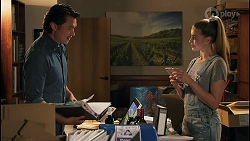 Leo Tanaka, Chloe Brennan in Neighbours Episode 8649