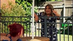 Nicolette Stone, Terese Willis in Neighbours Episode 8650