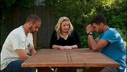 Kyle Canning, Sheila Canning, Levi Canning in Neighbours Episode 8650